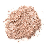Cosmetic powder isolated on white background Royalty Free Stock Photo