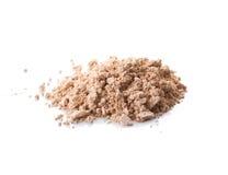 Cosmetic powder isolated on white background Royalty Free Stock Image