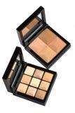 Cosmetic powder palette Stock Photo