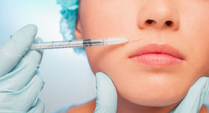 Cosmetic procedure Royalty Free Stock Photo