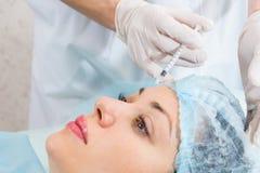Cosmetic procedure Royalty Free Stock Photo