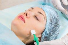 Cosmetic procedure Royalty Free Stock Photos