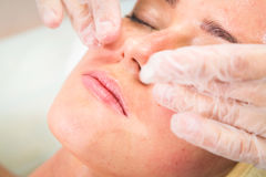 Cosmetic procedure Stock Image