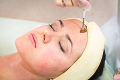 Cosmetic procedure Royalty Free Stock Images