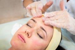 Cosmetic procedure Stock Images
