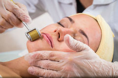 Cosmetic procedure Stock Images