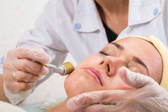 Cosmetic procedure Royalty Free Stock Photography