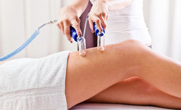 Cosmetic procedures in spa clinic Royalty Free Stock Photos