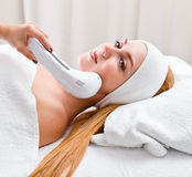 Cosmetic procedures in spa clinic Royalty Free Stock Photography
