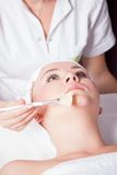Cosmetic procedures Royalty Free Stock Photography