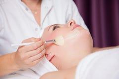 Cosmetic procedures Royalty Free Stock Image