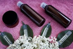 Cosmetic product royalty free stock images