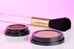 Cosmetic products Royalty Free Stock Photos