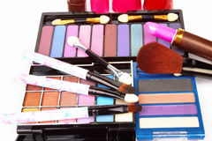 Cosmetic products Royalty Free Stock Image