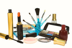 Cosmetic products Royalty Free Stock Photo