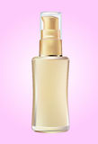 Cosmetic products  bottle Royalty Free Stock Photography