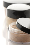 Cosmetic products close-up Stock Image