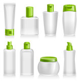 Cosmetic Products, Organic, Natural, Product Containers Royalty Free Stock Image