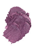 Cosmetic puple blot Stock Image