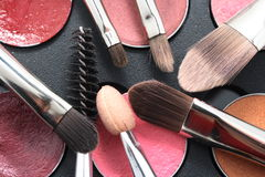Cosmetic rushes Royalty Free Stock Images