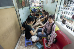 Cosmetic salon in Ho Chi Min Stock Photography