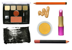 Cosmetic samples. Stock Photos