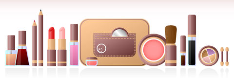 Cosmetic set Royalty Free Stock Photography