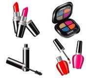 Cosmetic Set Royalty Free Stock Photos