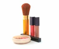 Cosmetic set Royalty Free Stock Images