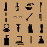 Cosmetic set beauty device. Icon Royalty Free Stock Photo