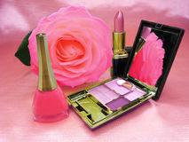Cosmetic Set For Makeup Royalty Free Stock Photo