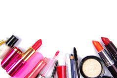 Cosmetic set isoalted Royalty Free Stock Photo