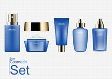 Cosmetic set serum, essence, moisturizer, cream, lotion. Concept Royalty Free Stock Photos
