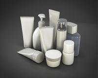 Cosmetic set from various means Stock Photography