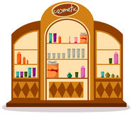 Cosmetic shop Stock Image