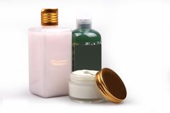 Cosmetic skincare product stock photos