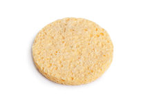 Cosmetic sponge Royalty Free Stock Images