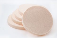 Cosmetic sponges Stock Photos