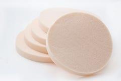 Cosmetic sponges Stock Photos
