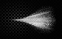 Cosmetic spray mist of atomizer effect. Vector illustration . Cosmetic spray mist of atomizer effect. Vector illustration Royalty Free Stock Photo