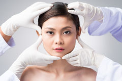 Cosmetic surgery Royalty Free Stock Photos