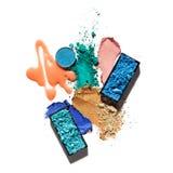 Cosmetic swatch. stock photos