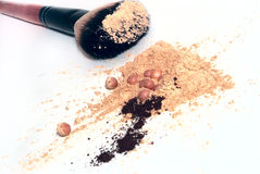 Cosmetic tools Royalty Free Stock Image