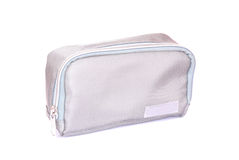 Cosmetic travel case Stock Images