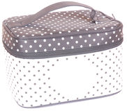 Cosmetic travel case Royalty Free Stock Images
