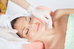 Cosmetic Treatment At Spa Salon Stock Images