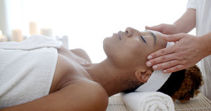 Cosmetic Treatment At The Health Spa Royalty Free Stock Photography