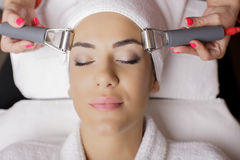 Cosmetic treatment Stock Photography