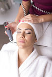 Cosmetic treatment Stock Images