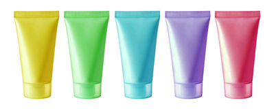 Cosmetic tube Stock Images